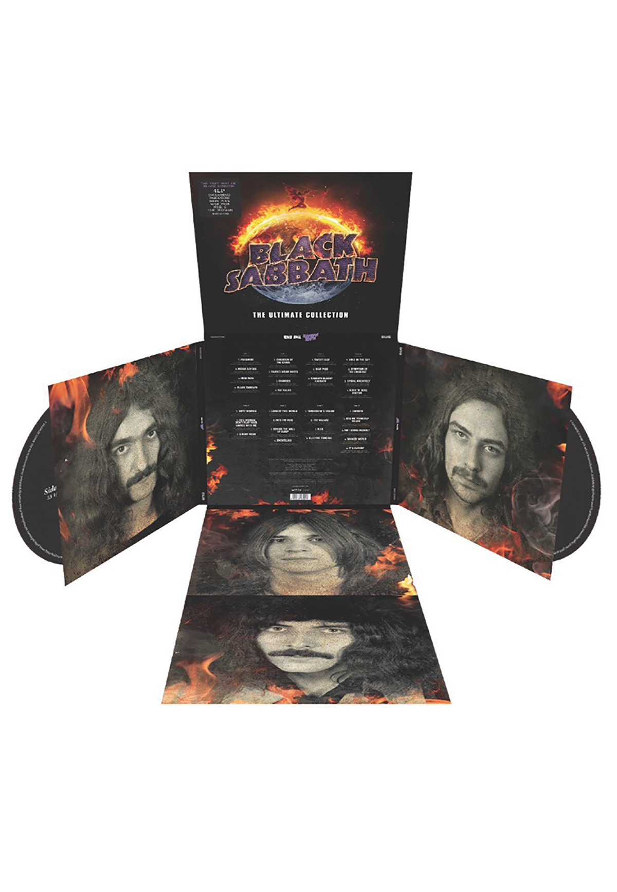 Black Sabbath The Ultimate Collection: The Ultimate Collection 4-LP Set Review