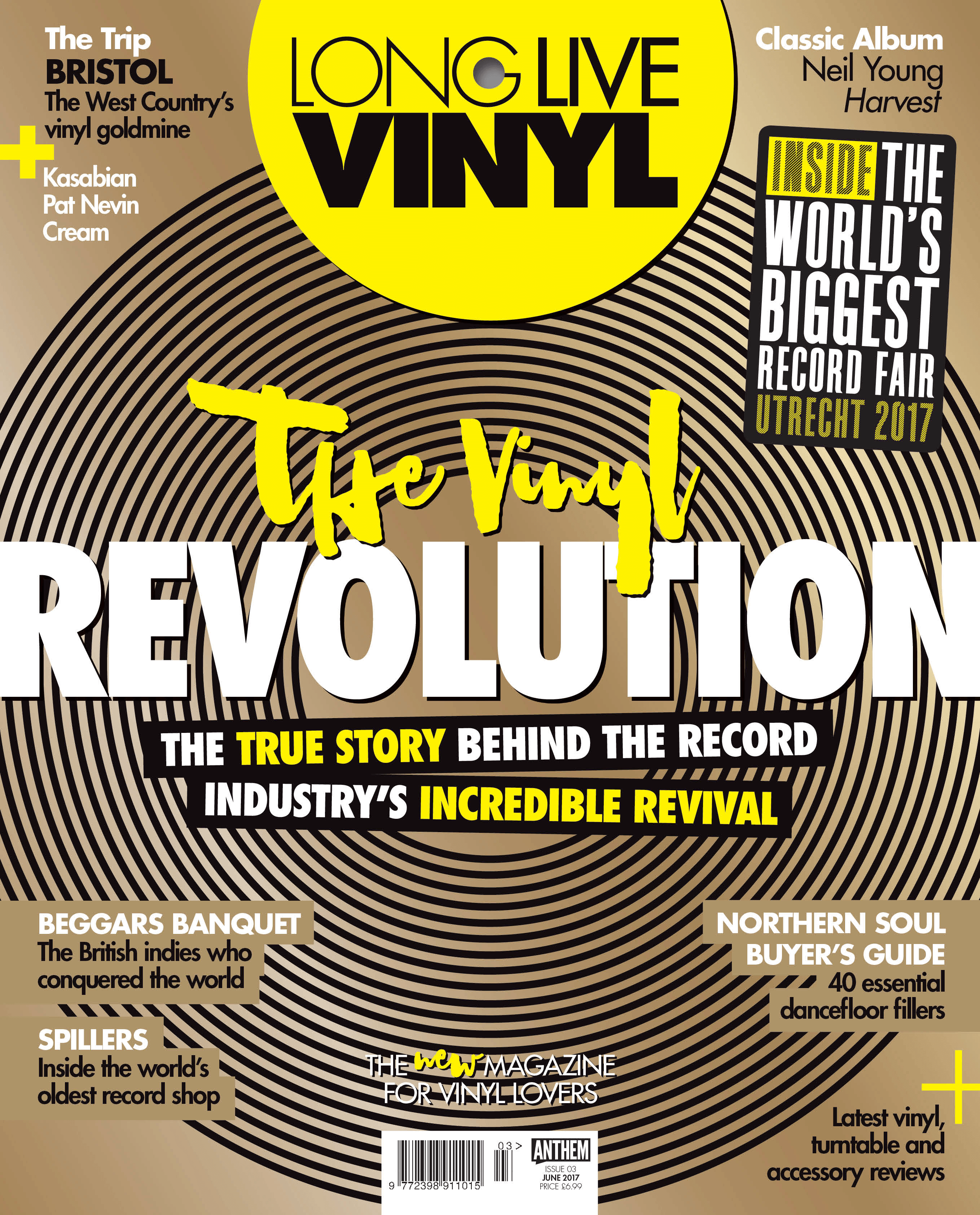 Long Live Vinyl - Issue 3