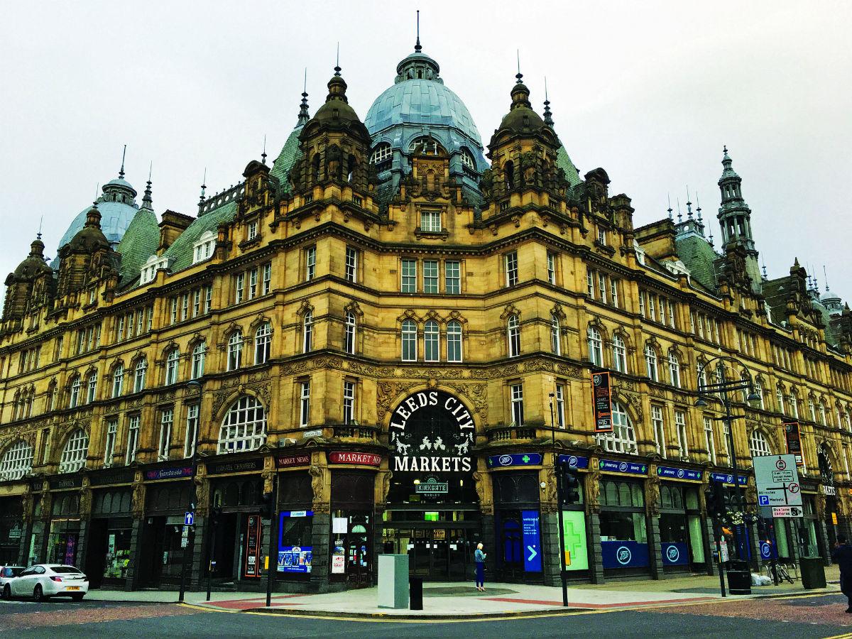 Kirkgate Market Leeds