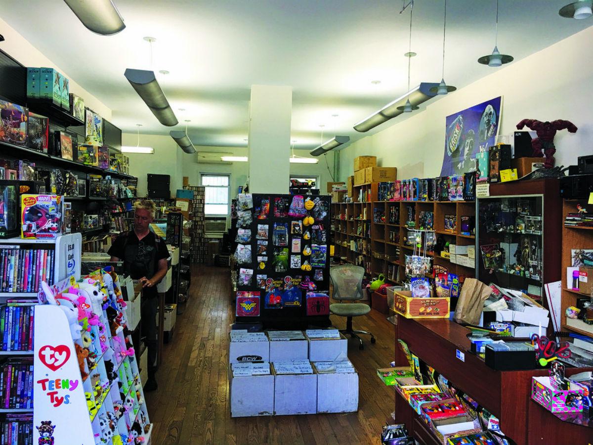 Popfuzz New York record shop
