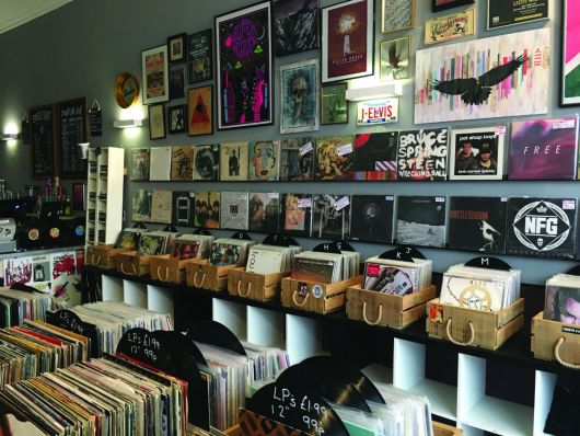 Singleshot record shop