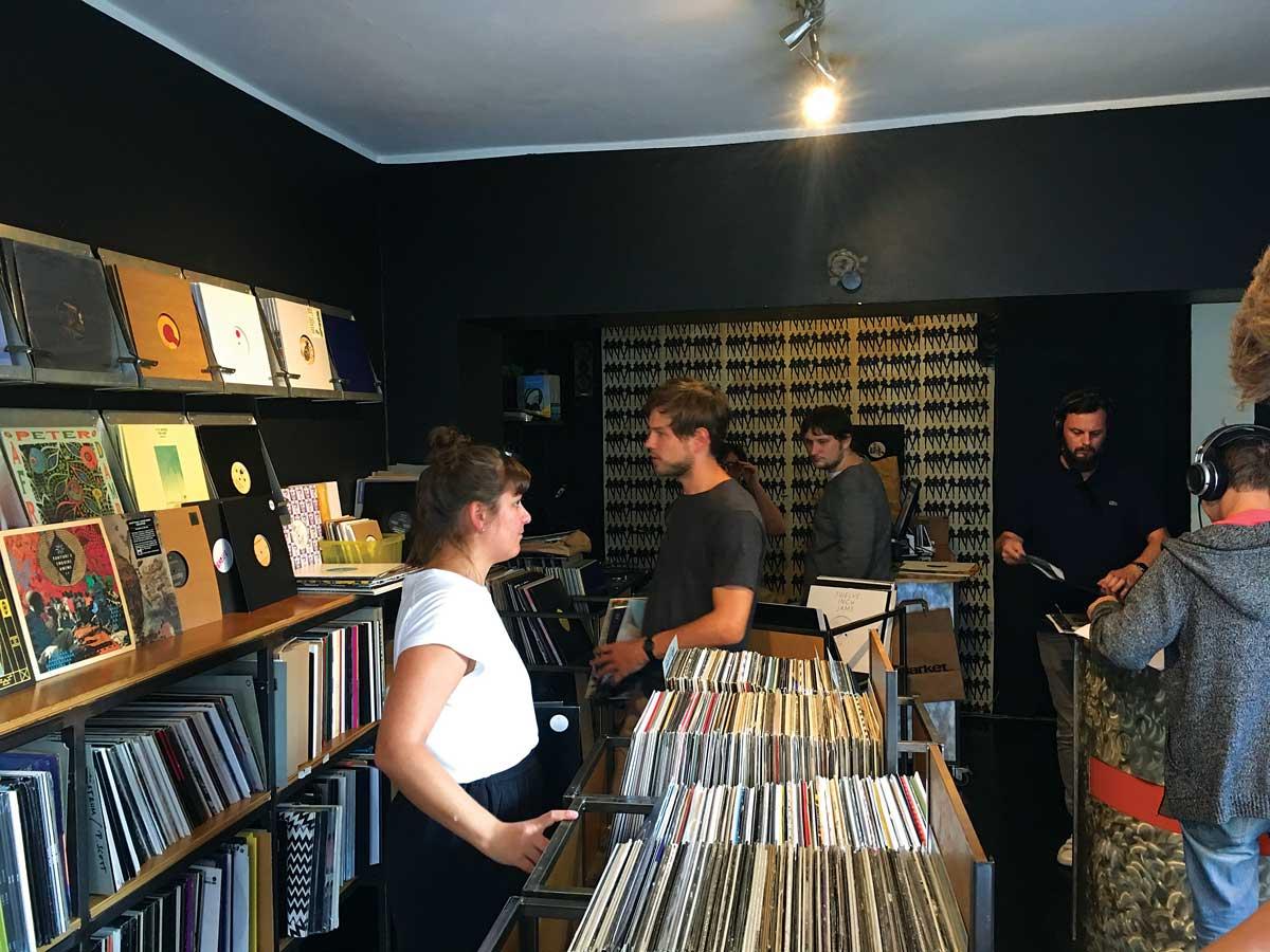 Das Market record shop Vienna