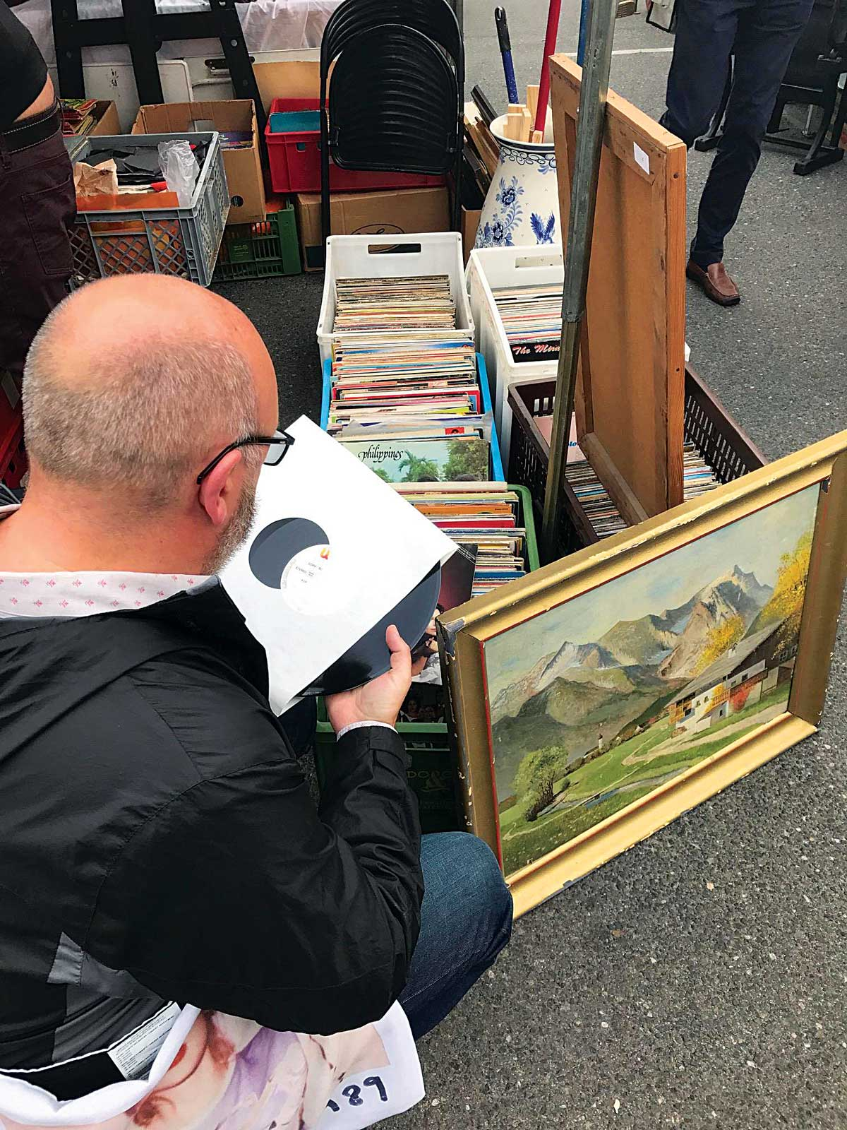 Long Live Vinyl - The Trip - Record shopping in Vienna