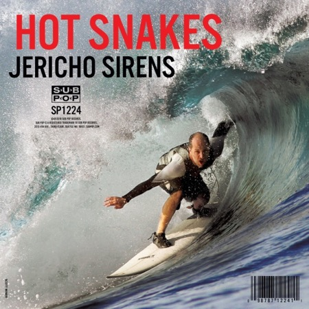 Hot Snakes Jericho Sirens album