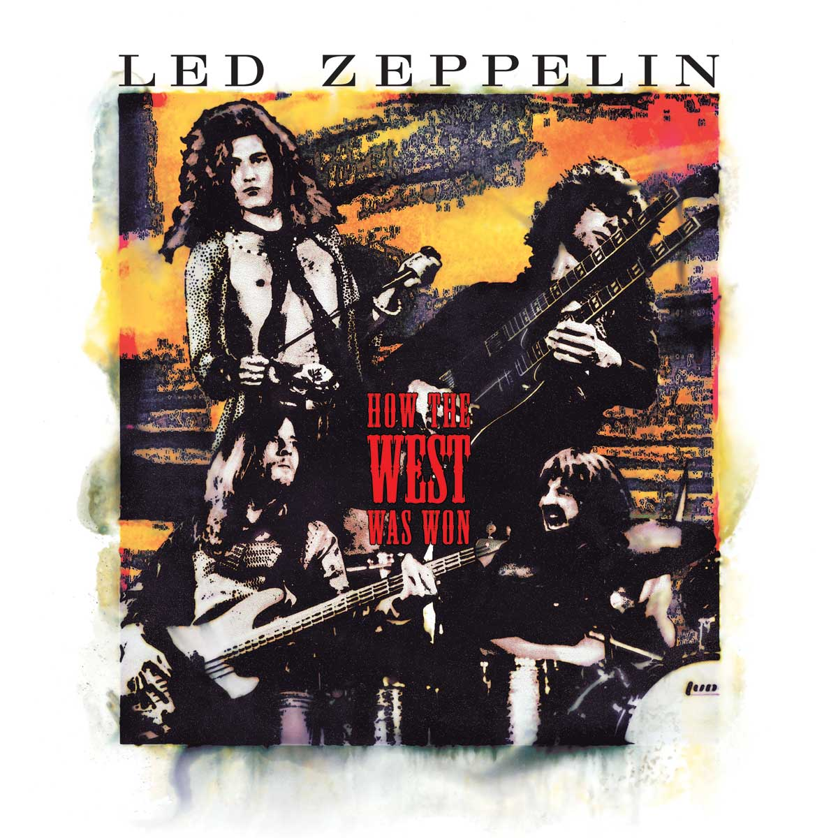 Led Zeppelin How The West Was Won new vinyl album