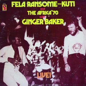 Live! – Fela Kuti With Ginger Baker