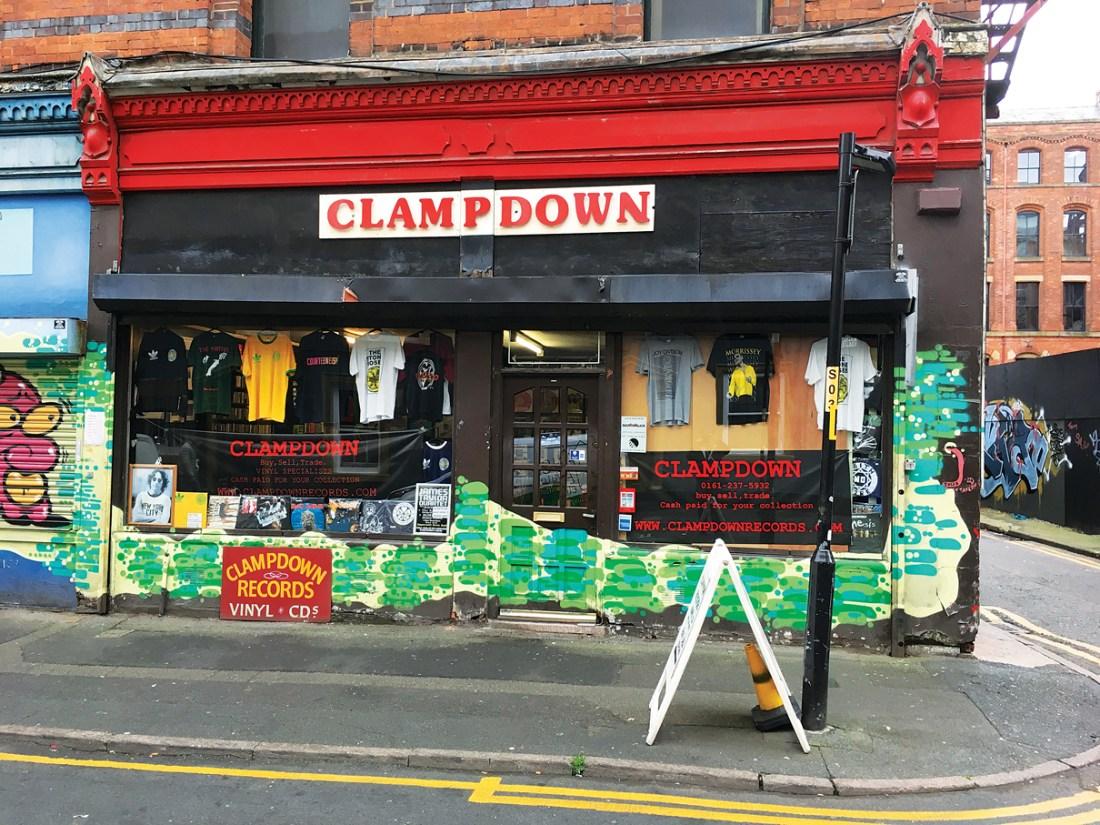 Clampdown Record Shop Manchester