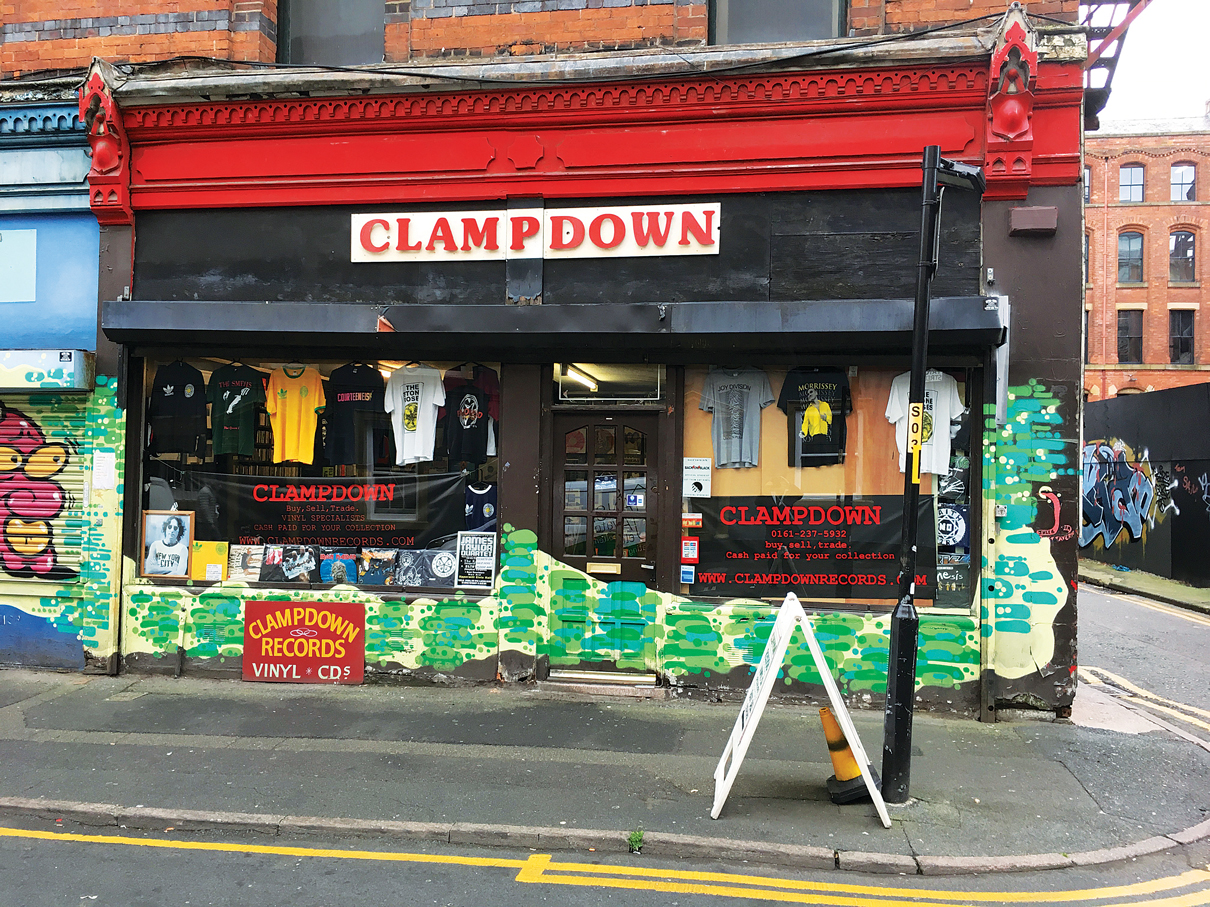 Clampdown Records, Manchester