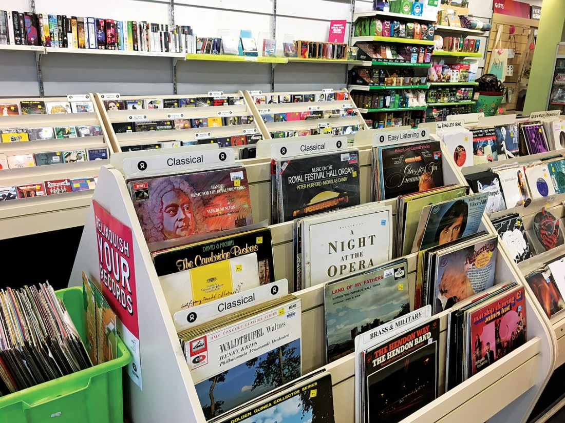 Oxfam Record Shop Manchester