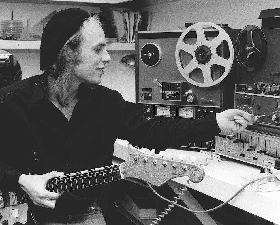 Studio Snapshot: Brian Eno's home studio, 1974