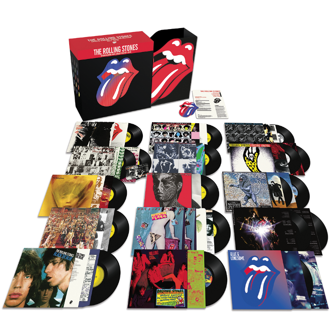 Review: The Rolling Stones - The Studio Albums Vinyl Collection 1971-2016