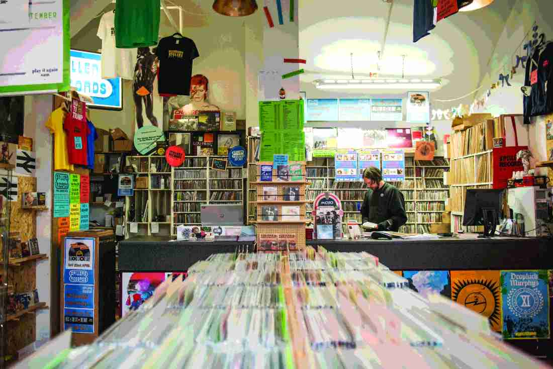 Record Store Day Round Table - Spiller