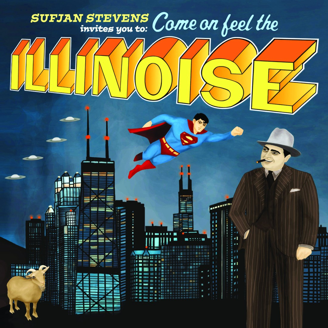 The Story Behind The Sleeve #8: Sufjan Stevens - Illinois