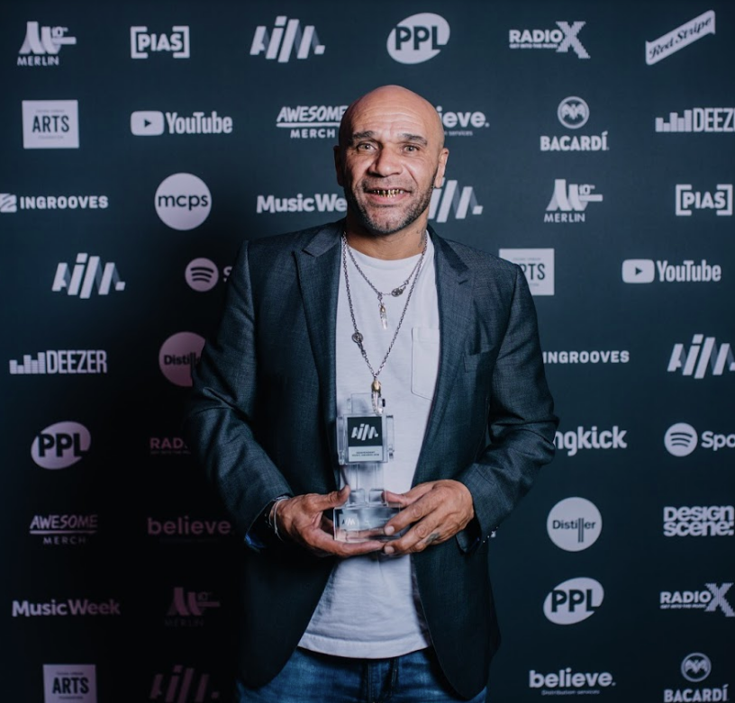 AIM Independent Music Awards winners announced - Goldie