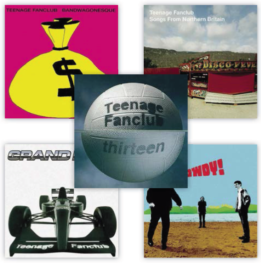 Review: Teenage Fanclub - Remastered Vinyl Reissue Series