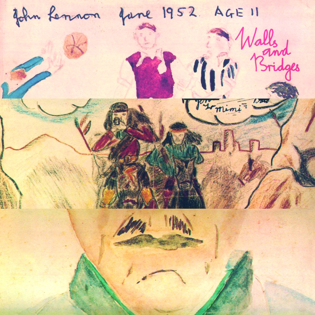 The Story Behind The Sleeve #16: John Lennon - Walls And Bridges