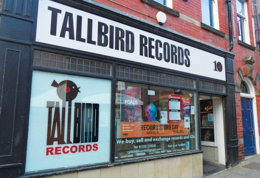 Tallbird Records Chesterfield