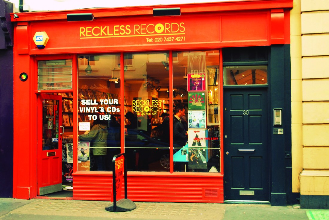 Reckless Records, Soho