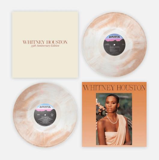 Whitney Houston reissue