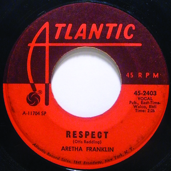 Aretha Franklin single