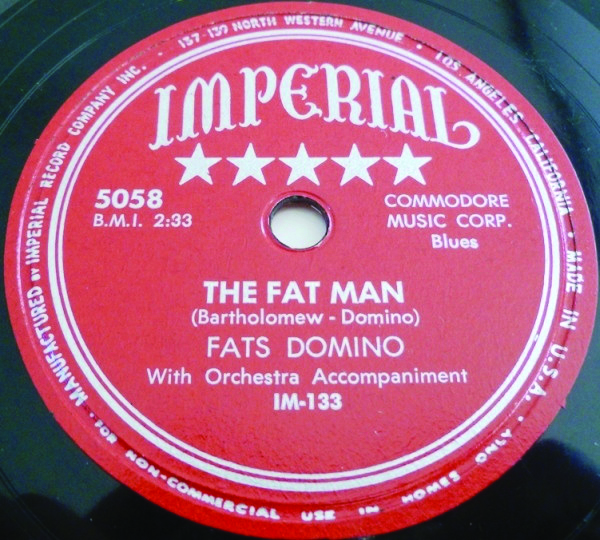 Fat Domino single