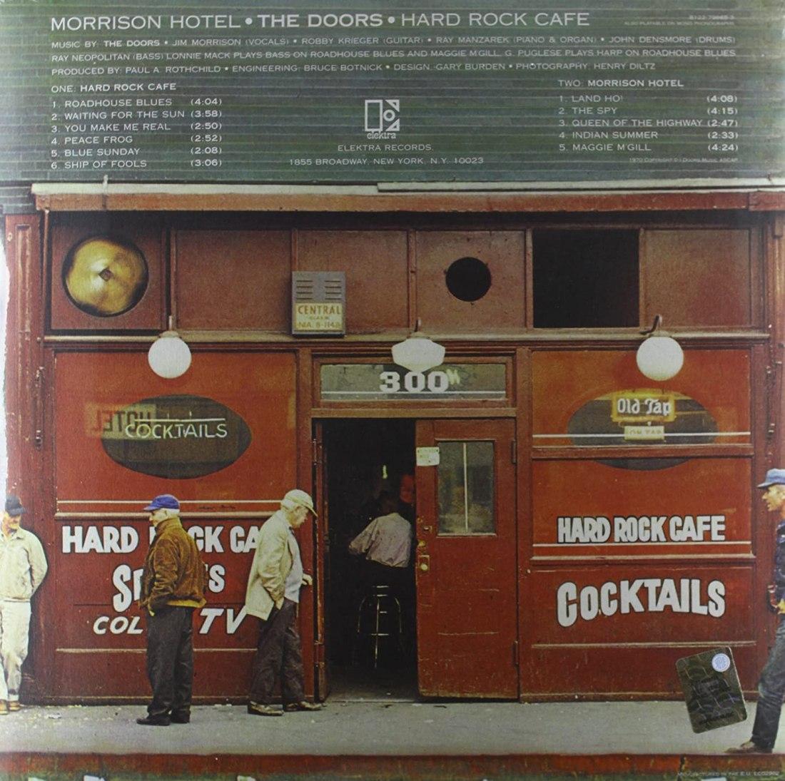 The Doors – Morrison Hotel