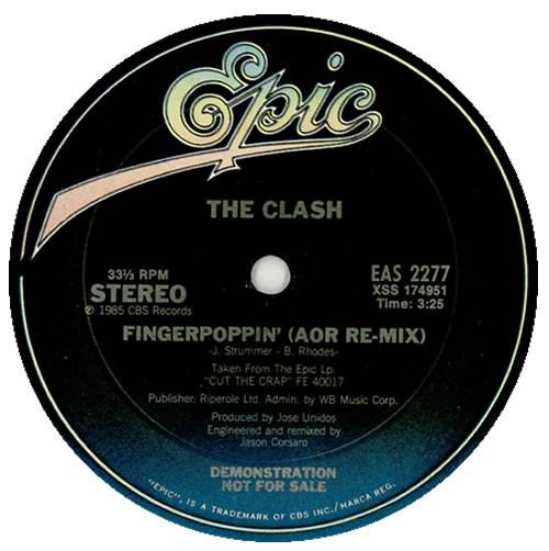 The Clash Fingerpoppin'