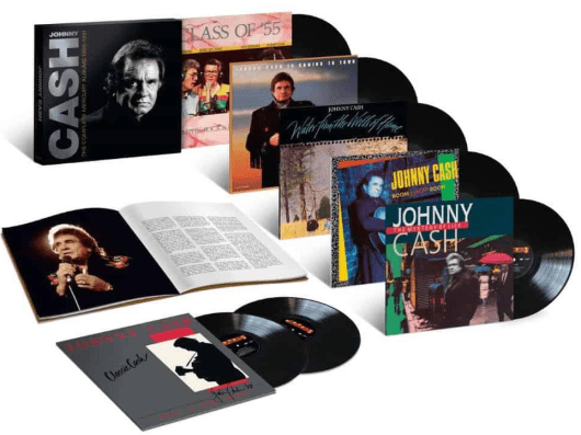 Johnny Cash The Complete Mercury Reissue