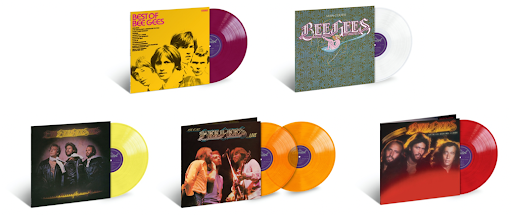Bee Gees Reissue Coloured Vinyl